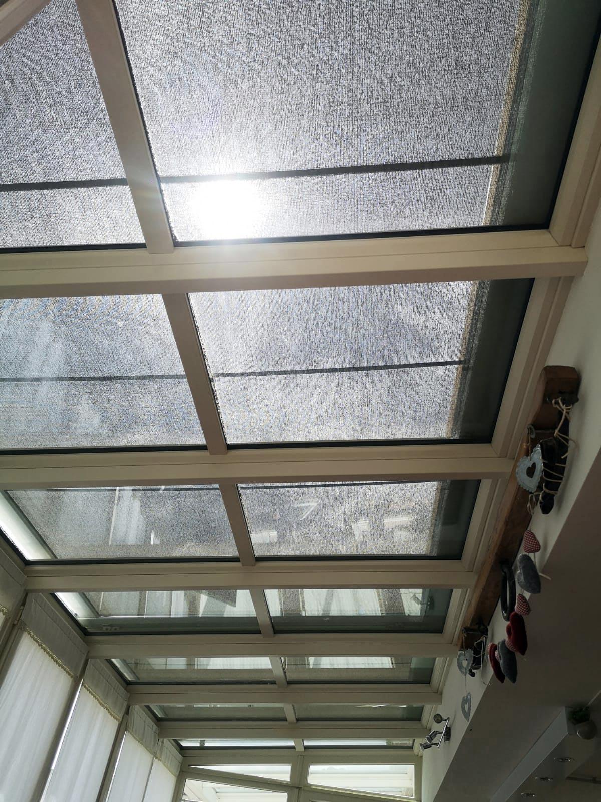 Tetto veranda in PVC Finstral