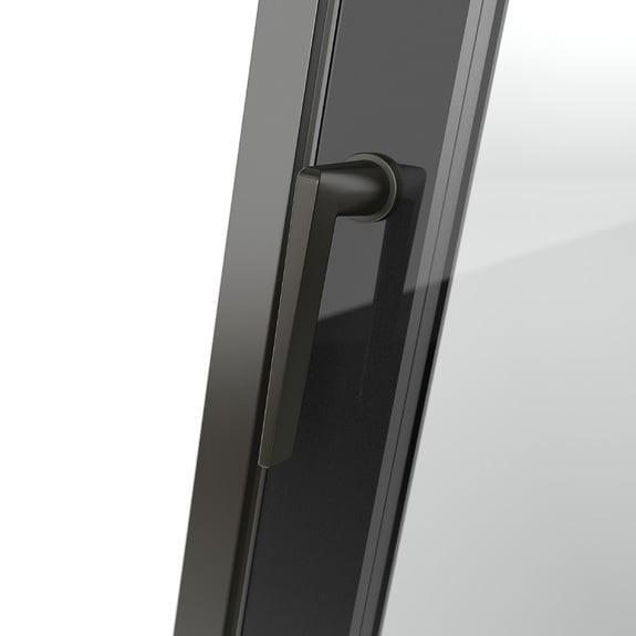 Maniglia per finestra design minimalista Arezzo infissi